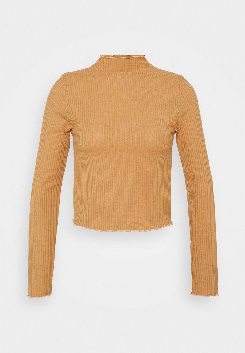 Trendyol - Camiseta de manga larga - camel
