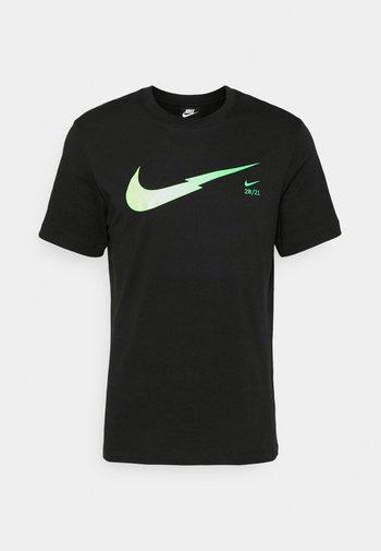 ZIGZAG TEE - T-shirt med print - black
