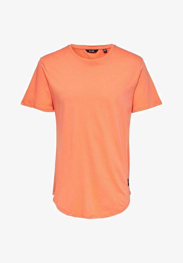 ONSMATT - T-Shirt basic - orange