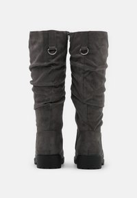 New Look Wide Fit - WIDE FIT CLOUD SLOUCH KNEE HIGH  - Vysoká obuv - mid grey - 3