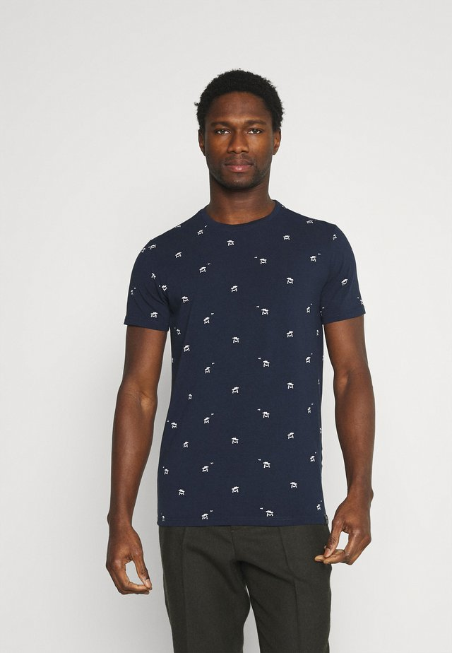 T-shirt imprimé - dark petrol