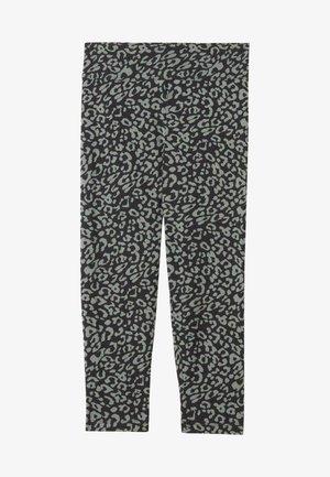 Leggings - Trousers - nero st animalier