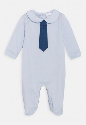 BABY BACK OPEN SLEEPSUIT - Sleep suit - azzuro