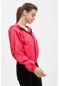 DeFacto - DEFACTO WOMAN LIGHT PINK - Zip-up hoodie - pink - 3