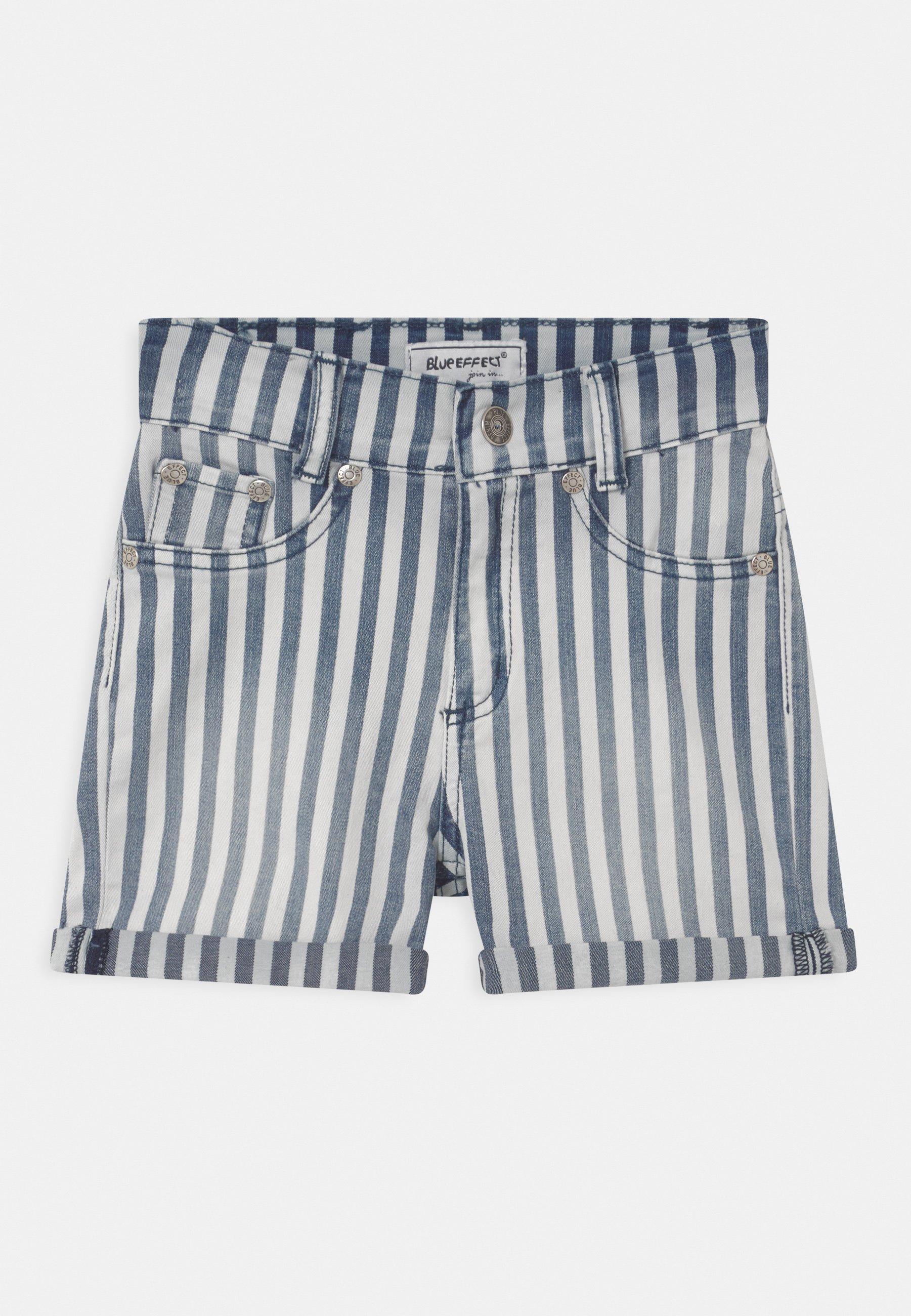 Kids GIRLS HIGH-WAIST - Denim shorts
