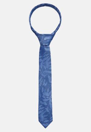 TROPIC SHADOW TIE - Tie - blue