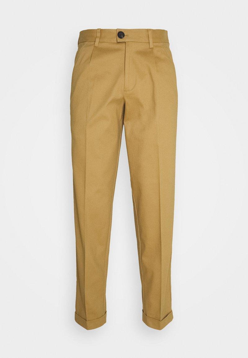 Jack & Jones PREMIUM - JJIBILL JJBRAD CROPPED - Trousers - beige
