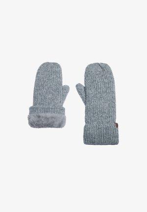 Fingerless gloves - grey melee