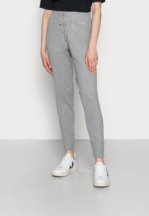 ANI ANKLE - Tracksuit bottoms - medium grey