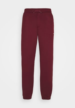 FLEASER PANT - Teplákové kalhoty - burgundy