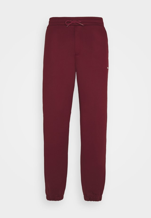 FLEASER PANT - Trainingsbroek - burgundy