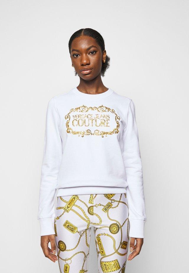 LADY LIGHT - Sweater - optical white/gold