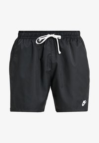 Nike Sportswear - FLOW - Shorts - black/white - 4