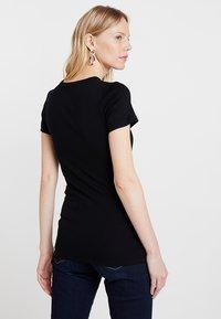 GAP - MOD CREW - Basic T-shirt - true black - 2