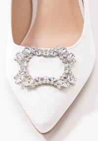 Dorothy Perkins - GLAD SQUARE COURT SHOE - High heels - white - 2