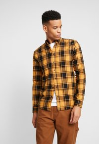 Denim Project - CHECK  - Skjorta - yellow - 0
