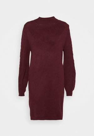 ONLPIL HIGHNECK DRESS  - Strikket kjole - port royale