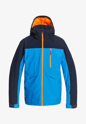 Soft shell jacket - brilliant blue