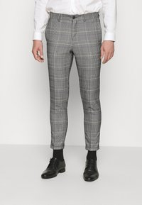 Lindbergh - DOUBLE BREASTED CHECK SUIT - Suit - brown - 4
