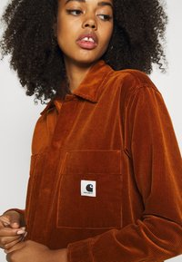 Carhartt WIP - FOYA SHIRT JACKET - Summer jacket - brandy - 4