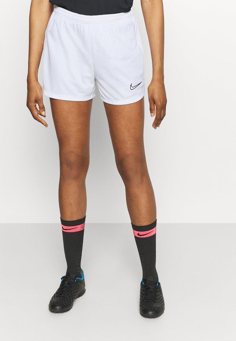 Nike Performance - DRY ACADEMY SHORT - Sports shorts - white/black
