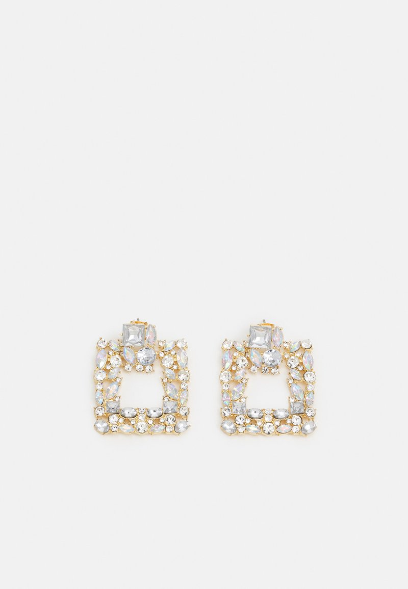 Pieces - PCVICTORIA EARRINGS - Earrings - gold coloured
