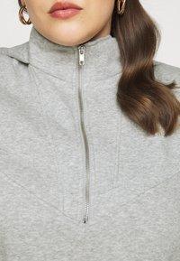 Pieces Curve - PCRIO  LOUNGE  CURVE - Sweatshirt - light grey melange - 7