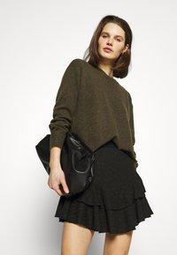 Guess - TATIANA SKIRT - A-line skirt - jet black - 4