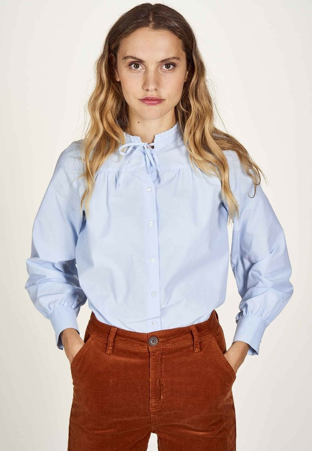 Overhemdblouse - chambray blue