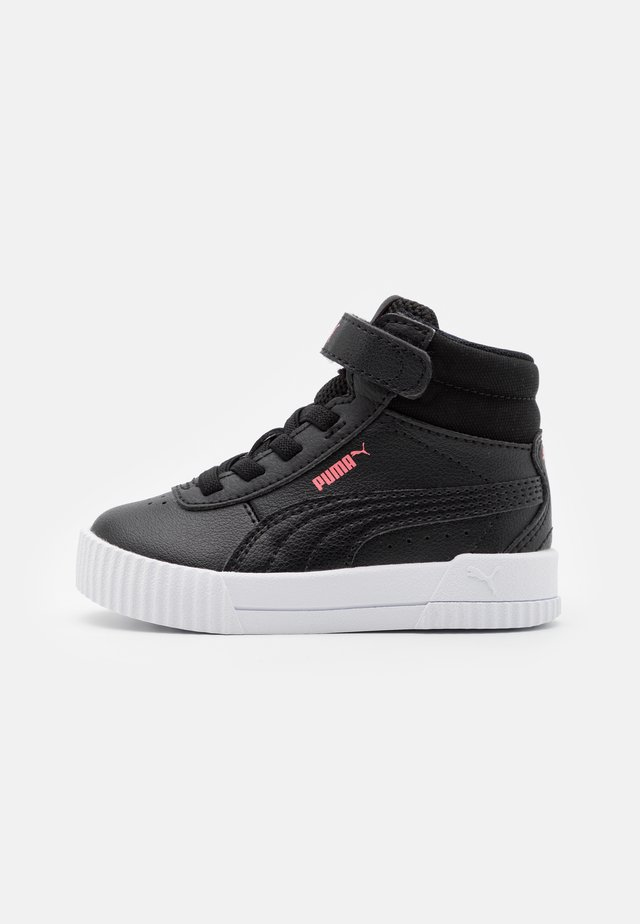 CARINA MID UNISEX - High-top trainers - black/glowing pink