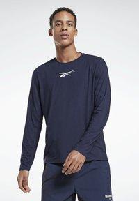 Reebok - ACTIVCHILL DREAMBLEND - Sports shirt - blue - 0