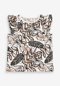 Next - 5 PACK  - T-shirts print - brown
