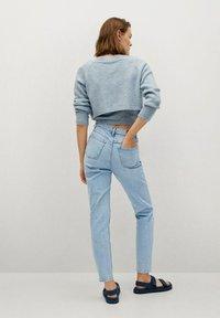 Mango - NEWMOM - Slim fit jeans - lichtblauw - 2