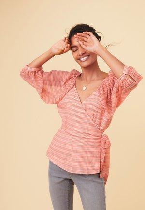 WRAP - Blouse - pink