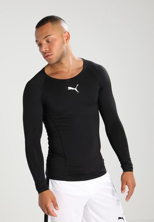 LIGA BASELAYER TEE - Hemd - black