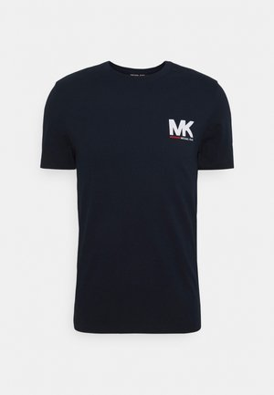 SPORT LOGO TEE - Print T-shirt - dark midnight