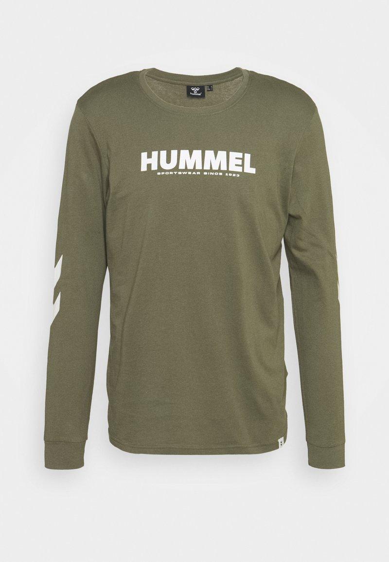Hummel - LEGACY - Langærmede T-shirts - beetle