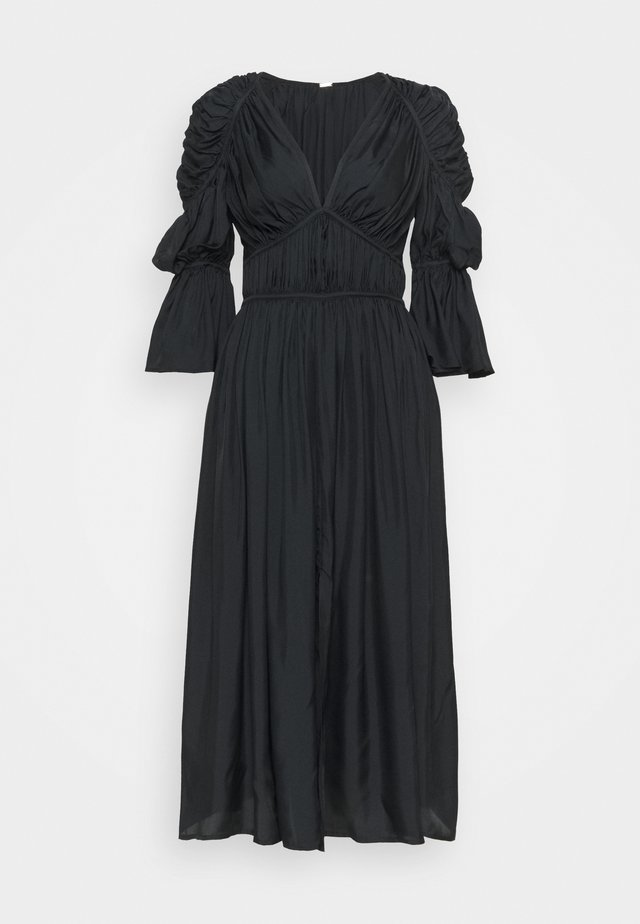 ANYSIA DRESS - Maxi-jurk - black