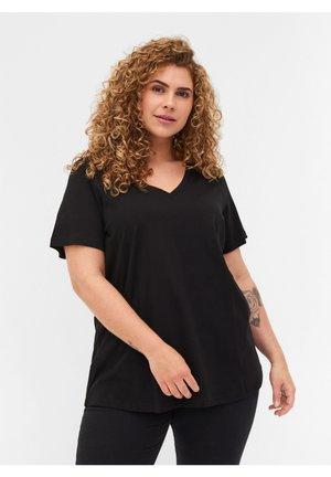 2-PAK  - Basic T-shirt - black
