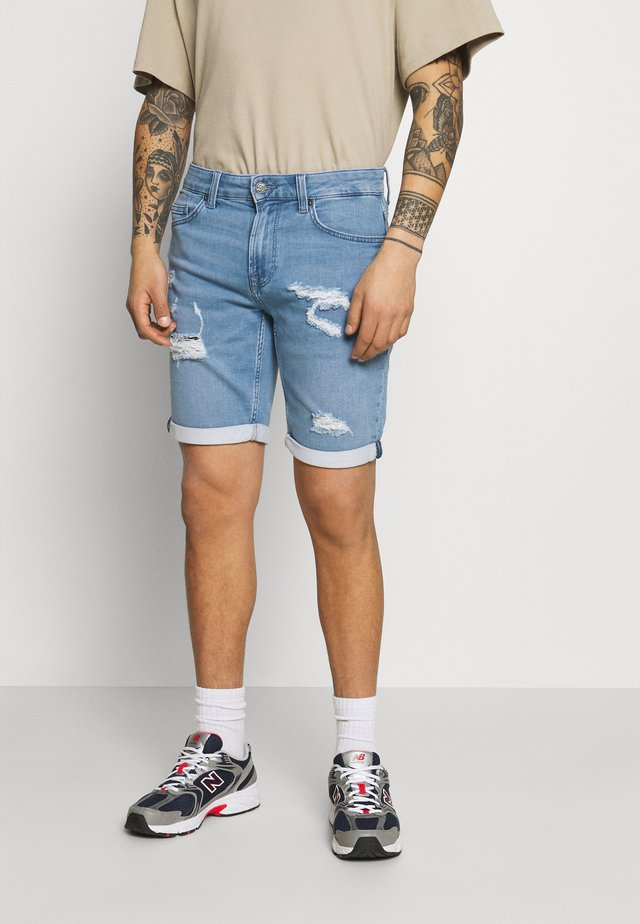 ONSPLY LIFE - Short en jean - blue denim