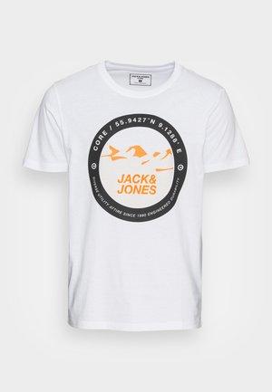 JCOBILO - T-shirt print - white