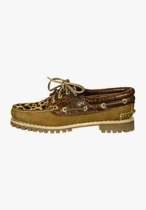 Boat shoes - trapper tan