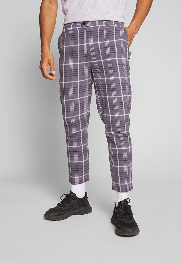 ADAM TROUSER - Spodnie materiałowe - charcoal