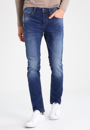 ONSWEFT - Straight leg jeans - medium blue denim