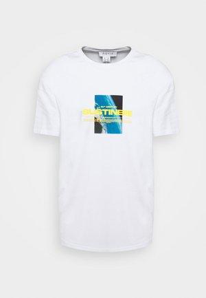 SUSTINERE - T-shirt print - white