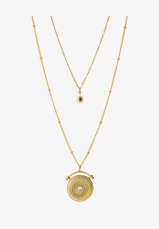 AMULET  - Necklace - oro