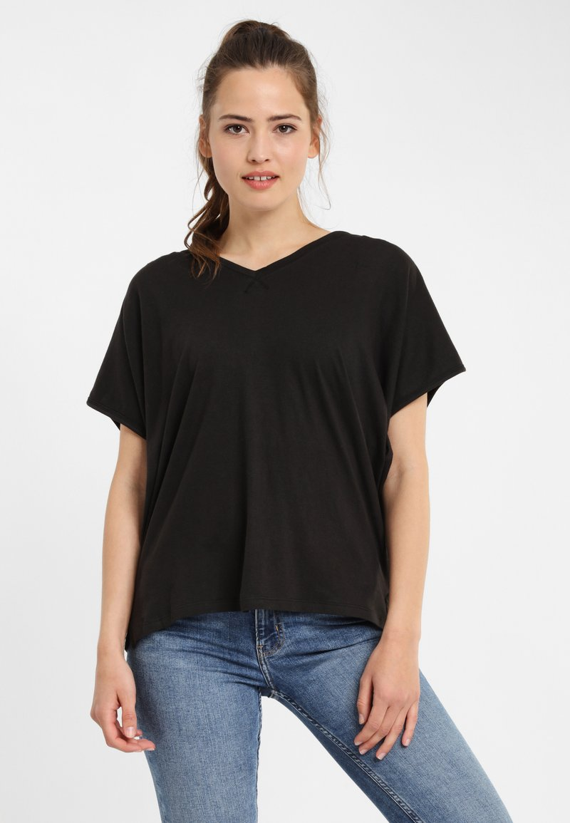 PONCHO COMPANY - Print T-shirt - grey