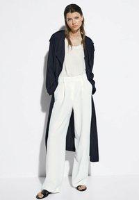 Massimo Dutti - Pantalon classique - white - 0