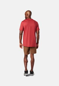 Smartwool - T-shirt print - red - 1