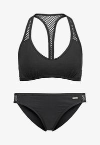 SET - Bikini - black solid